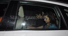 Alia Bhatt And Ayan Mukerji Spotted Outside Karan Johar's House | StarsCraze