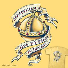 """The Holy Hand Grenade    """"The Holy Hand Grenade"""" by Ian Leino    Armaments 2:9 """"…Blow thy enemies to tiny bits""""    Inspired by Monty Python and the Holy Grail"""