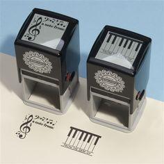Music Notes Self-Inking Stamp