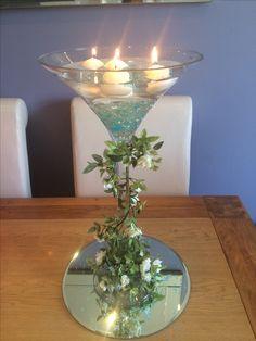 Peachy 33 Best Martini Glass Centerpiece Images Floral Download Free Architecture Designs Embacsunscenecom