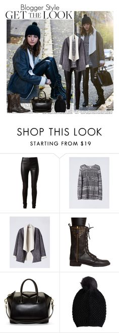"""""""Best Of You"""" by ana-caroline-maia ❤ liked on Polyvore featuring Balenciaga, Givenchy, Pieces, women's clothing, women, female, woman, misses, juniors and GetTheLook"""