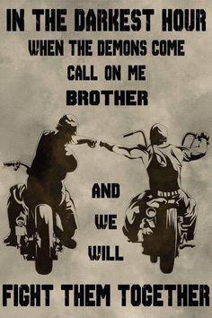 biker Poster - call on me brother - Bikerlifestyle - Motorrad Motivacional Quotes, Wisdom Quotes, True Quotes, Rider Quotes, Motorcycle Memes, Brother Quotes, Warrior Quotes, Adventure Quotes, Life Adventure