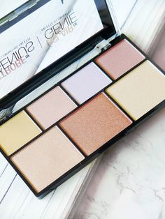 Highlight Of My Life | NYX Strobe Of Genius Illuminating Palette | Review & Swatches | labellesirene.ca