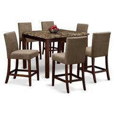 harbor pointe dining room collection - value city furniture