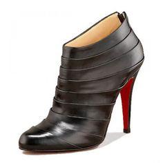 Louboutin Orniron Ankle Booties Schwarz #shoesforwomen
