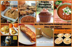All-Time Favorite Pumpkin Recipes {Fall Link Party} Vegan Pumpkin, Baked Pumpkin, Pumpkin Recipes, Pumpkin Breakfast, Pumpkin Dessert, Thanksgiving Recipes, Fall Recipes, Recipes Dinner, Breakfast Recipes