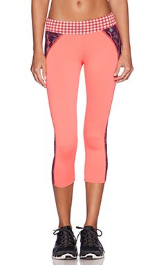 Maaji Crop Legging in Marsipan Wheel