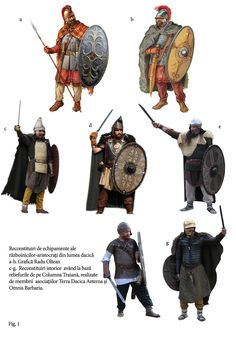 даки Ancient Rome, Ancient Art, Ancient History, Military Art, Military History, Tribal Warrior, Roman Era, Arm Armor, Iron Age