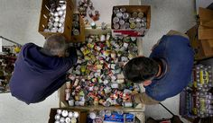 Hunger advocates say a lot of nutritionally dense food like canned tuna and beans can be cheaper than processed food. -- Tips on what to give to local food banks.