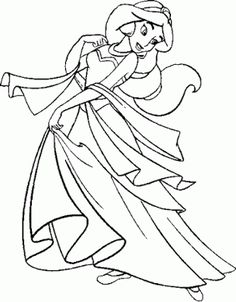 DISNEY COLORING PAGES: DISNEY PRINT AND COLOR