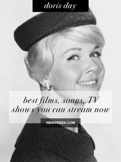 Doris Day: Best films, songs and TV shows you can stream now Movie Facts, Fun Facts, Film Song, April 3, Films, Movies, Dory, Cincinnati, Tv Shows