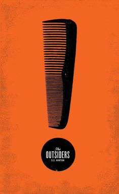 Graphic Design - Graphic Design Ideas - The Outsiders. Deidra Brocké Wallace Graphic Design Ideas : – Picture : – Description The Outsiders. Deidra Brocké Wallace -Read More – Design Graphique, Art Graphique, Book Cover Design, Book Design, Photocollage, Beautiful Book Covers, Grafik Design, Art Design, Design Ideas
