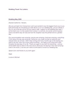 wedding thank you letter find out everything you need to know about sending wedding thank
