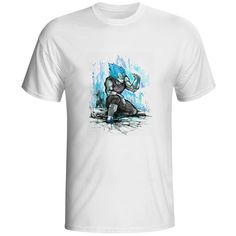 EATGE Hand Drawn Watercolor T Shirt Son Goku Kuririn Friendship T shirt Dragon Ball Z. Click visit to buy #T-Shirts
