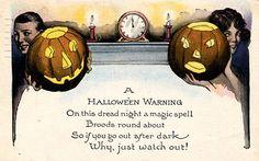 Halloween Warning!