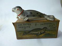 1920 Seal toy Lehmann Germany