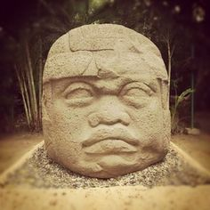 Cabeza Olmeca | Villahermosa Tabasco | México