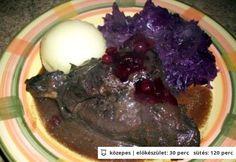 Vadnyúl vörösboros mártásban Cabbage, Vegetables, Food, Vegetable Recipes, Eten, Veggie Food, Cabbages, Meals, Collard Greens