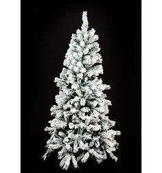 rbol de navidad blanco nieve ramas