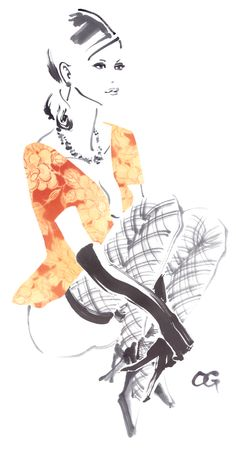 New Fashion Ilustration Portrait Paintings 41 Ideas Watercolor Fashion, Fashion Painting, Fashion Art, Trendy Fashion, Fall Fashion, Fashion Ideas, Valentines Illustration, Illustration Art, Croquis Fashion