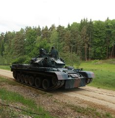 TR-85M1 Bizonul Romanian Army MBT