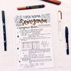 School Organization Notes, School Notes, Bullet Journal Notes, Bullet Journal School, School Study Tips, Study Journal, School Notebooks, Study Planner, Pretty Notes