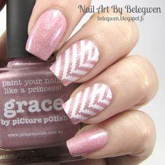 Nail Art By Belegwen: Picture Polish Grace