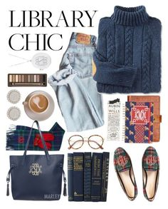 stay effortlessly chic, even while studying at the library ~ Marleylilly