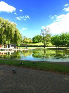 Castle Park, Colchester, Essex, England