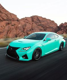 LEXUS RC-F. Color doesnt do it for me but i dig the car