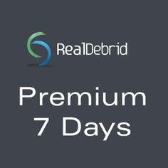 Real-Debrid Premium 7 Days http://247premiumcart.com/?product=real-debrid-premium-7-days