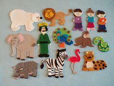 Polar Bear Polar Bear What do You Hear Felt by JillyPooCreations, $33.00