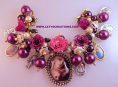 Catholic Virgin Mary Saints Religious Medals Charm Bracelet | eBay www.letyscreations.com