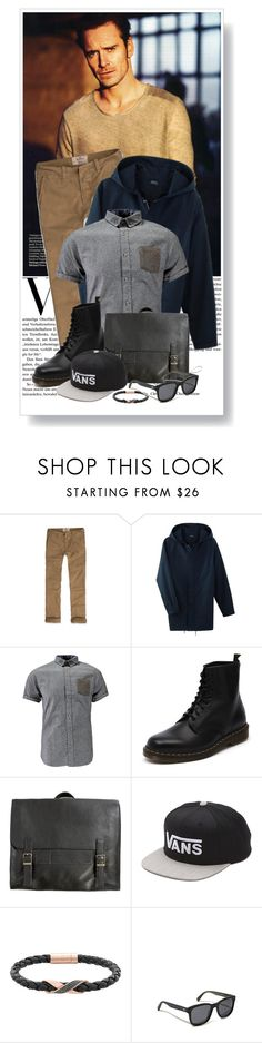 """""""Robert Downey"""" by madeinmalaysia ❤ liked on Polyvore featuring Hollister Co., Dr. Martens, Emili, Vans, Swarovski, Oliver Peoples, women's clothing, women, female and woman"""