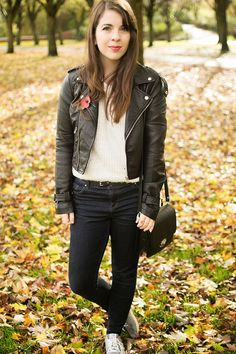 HOW TO WEAR BIKER JACKET #FBLOGGERS