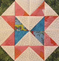 star pattern for a quilt Star Block of the Month Quilt Pattern - Block #8
