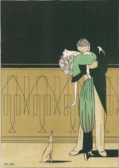(by Sven Brasch, Danish poster designer, whose heyday was 1910-1940)