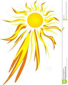 Fierce Hot Sun Stock Photography - Image: 450972