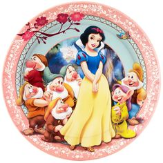Snow White Dinner Plates count) Description: Grab a spoon and a bowl to get that dinner music in your soul! These Snow White Dinner Plates count) have her favo Disney Movie Characters, Disney Movies, Cartoon Characters, Disney Princess Snow White, Snow White Disney, Snow White Photos, Snow White Seven Dwarfs, Snow White Birthday, Princess Photo