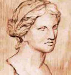 In ancient Greece, it was not very common to see a female scientist. However, history remembers the names of the women who made their mark in those times. Greek History, Women In History, School Of Philosophy, School Of Athens, The Golden Mean, Who Goes There, Simple Minds, Face Art, Art Faces