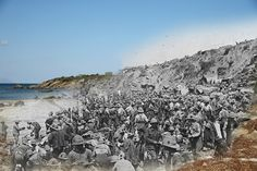 Remarkable Gallipoli Pictures Show The First World War Battlefield Then And Now