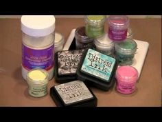 Heat Embossing Colour Tip - YouTube