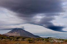 """Aviso de tormenta natural, el Teide tiene """"sombrero"""""""