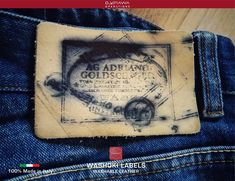 Garra, Leather Label, Denim Branding, Okinawa, Projects To Try, Patches, Italy, Create, Apps
