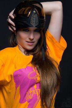 Paintball model Paintballmodel Tiwi  Paintballgirl