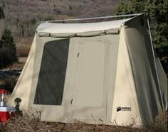 Kodiak Canvas Tent - 6055 Six-Person 10 x 10 Ft. Tent - Hydra & CanvasCamp Sibley 600 ProTech Double Door canvas bell tent ...