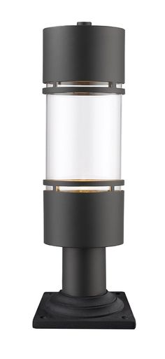 Z-Lite 553PHB-533PM-ORBZ-LE Luminata LED 20 inch Oil Rubbed Bronze Outdoor Post Light