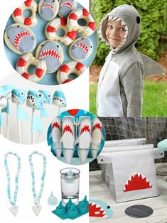 JAWesome Shark Party Ideas for Shark Week