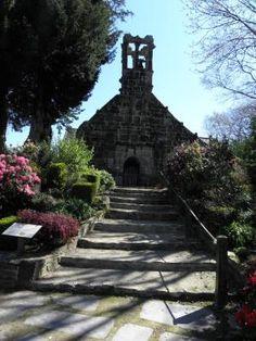 Chapelle du Moustoir à Châteauneuf-du-Faou. Finistère. Bretagne