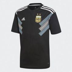Argentina Away Jersey Black